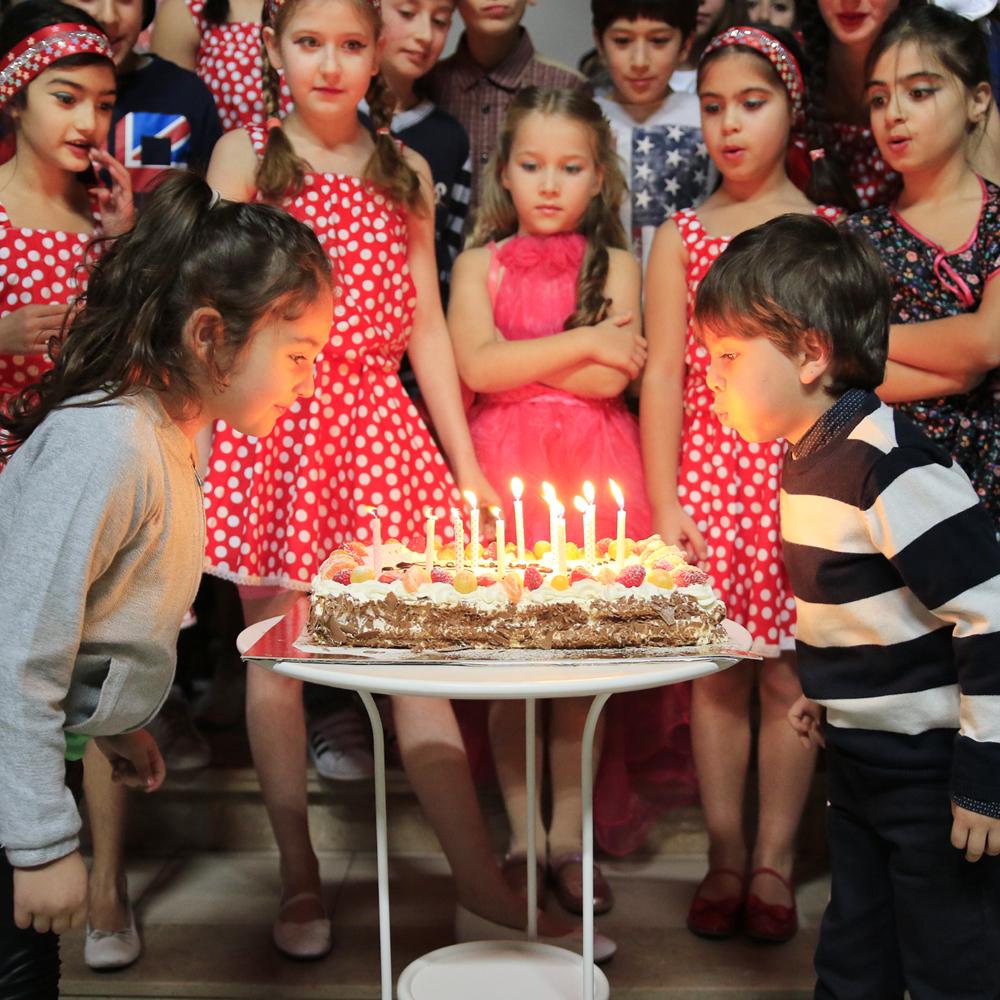 Одиннадцатый день рождения / 11de verjaardag