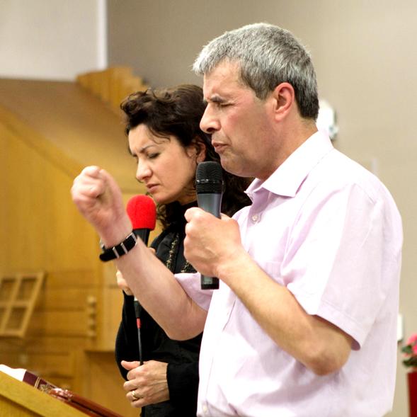 13 апреля у нас в гостях находились миссионеры из Молдавии…