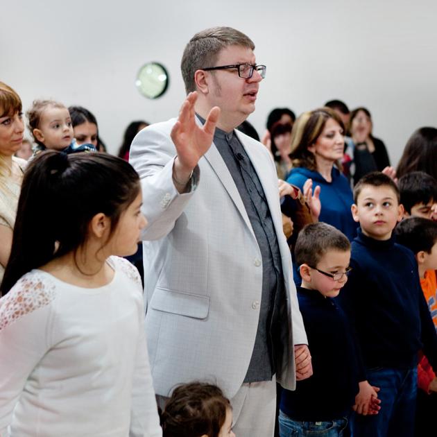 Олег Пронин, президент Союза Эстонских Христианских Общин, 21-23 март 2014