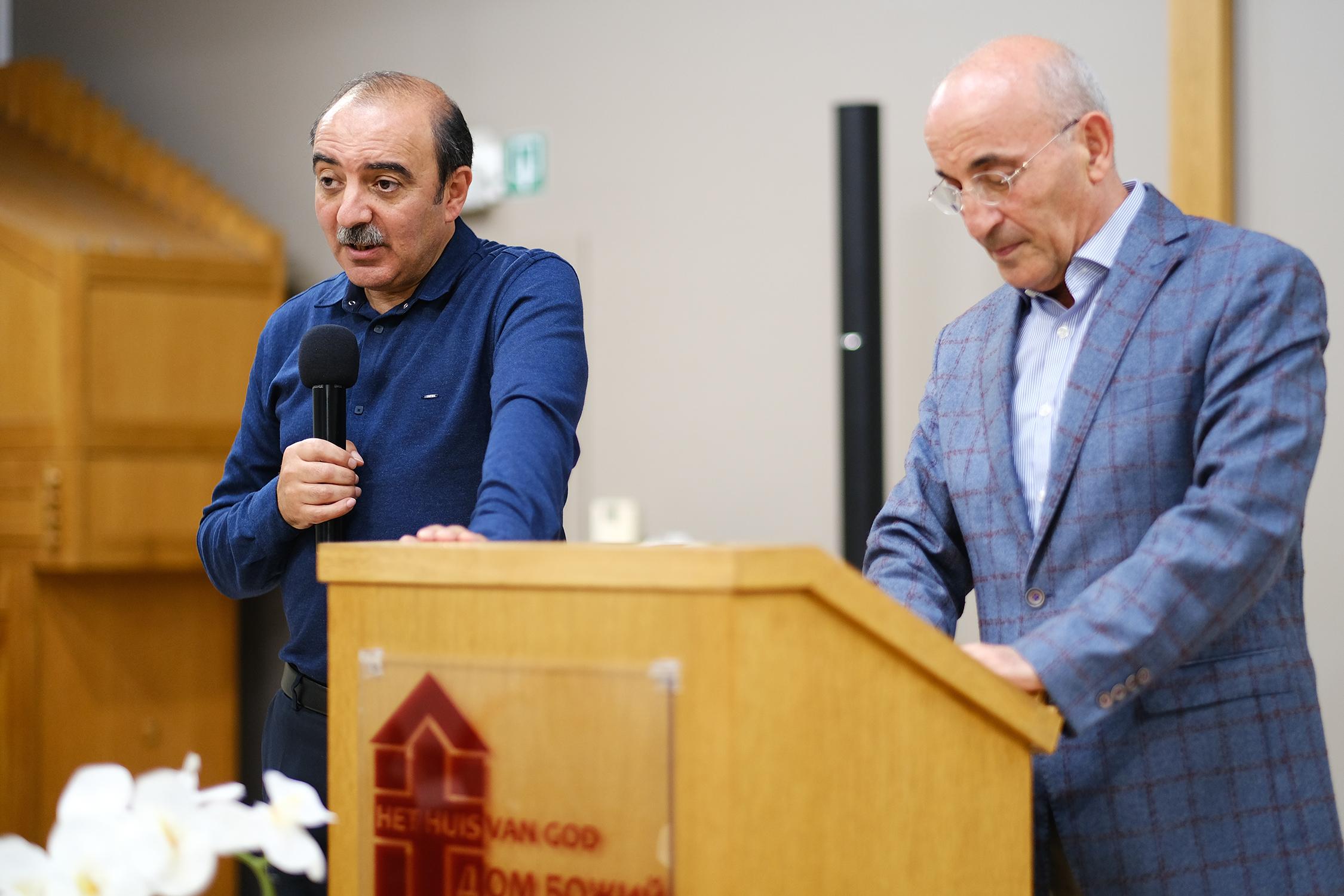 Rubik Tumanyan en Vladik Baghdasaryan in Gent — 12 oktober 2019