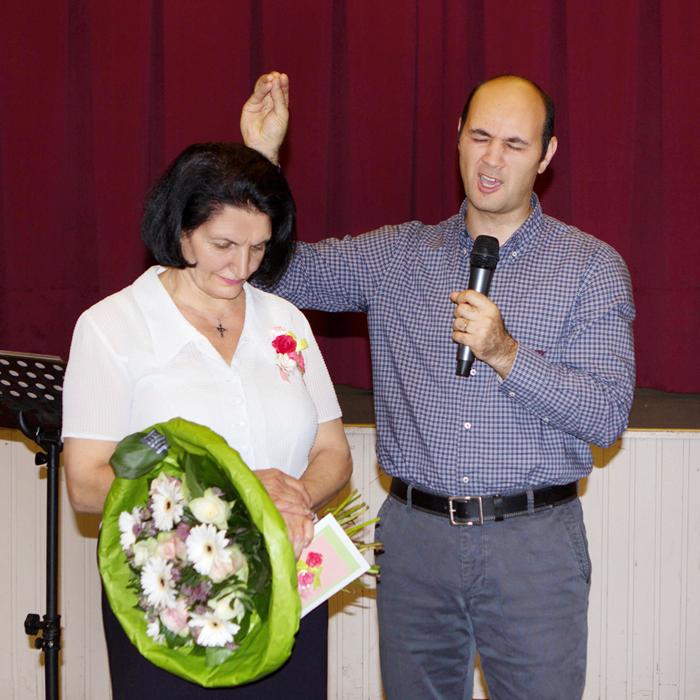 Выпускной вечер Библейской школы, 29 июня 2014