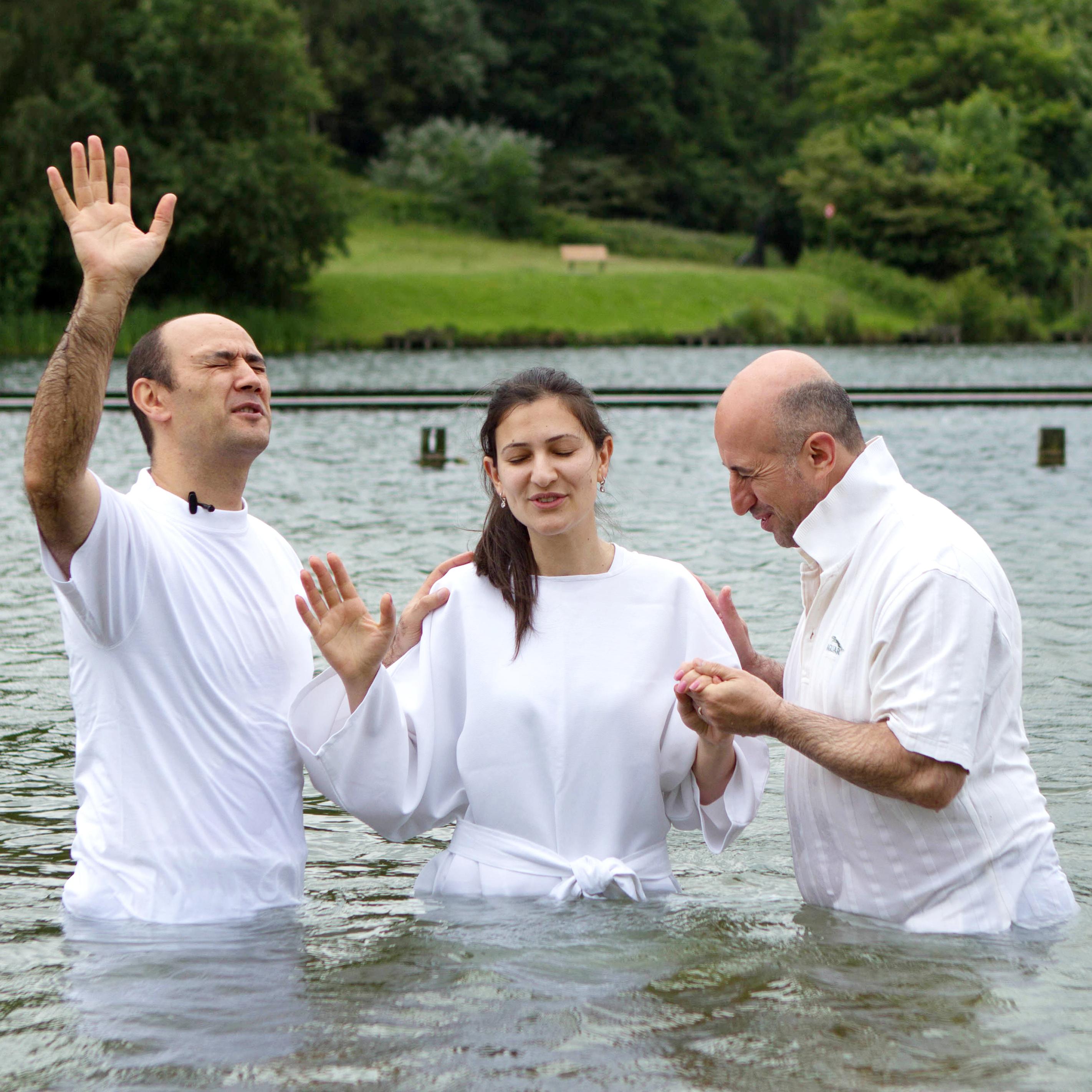 Крещение на озере Блаармесен, 15 июнь 2014