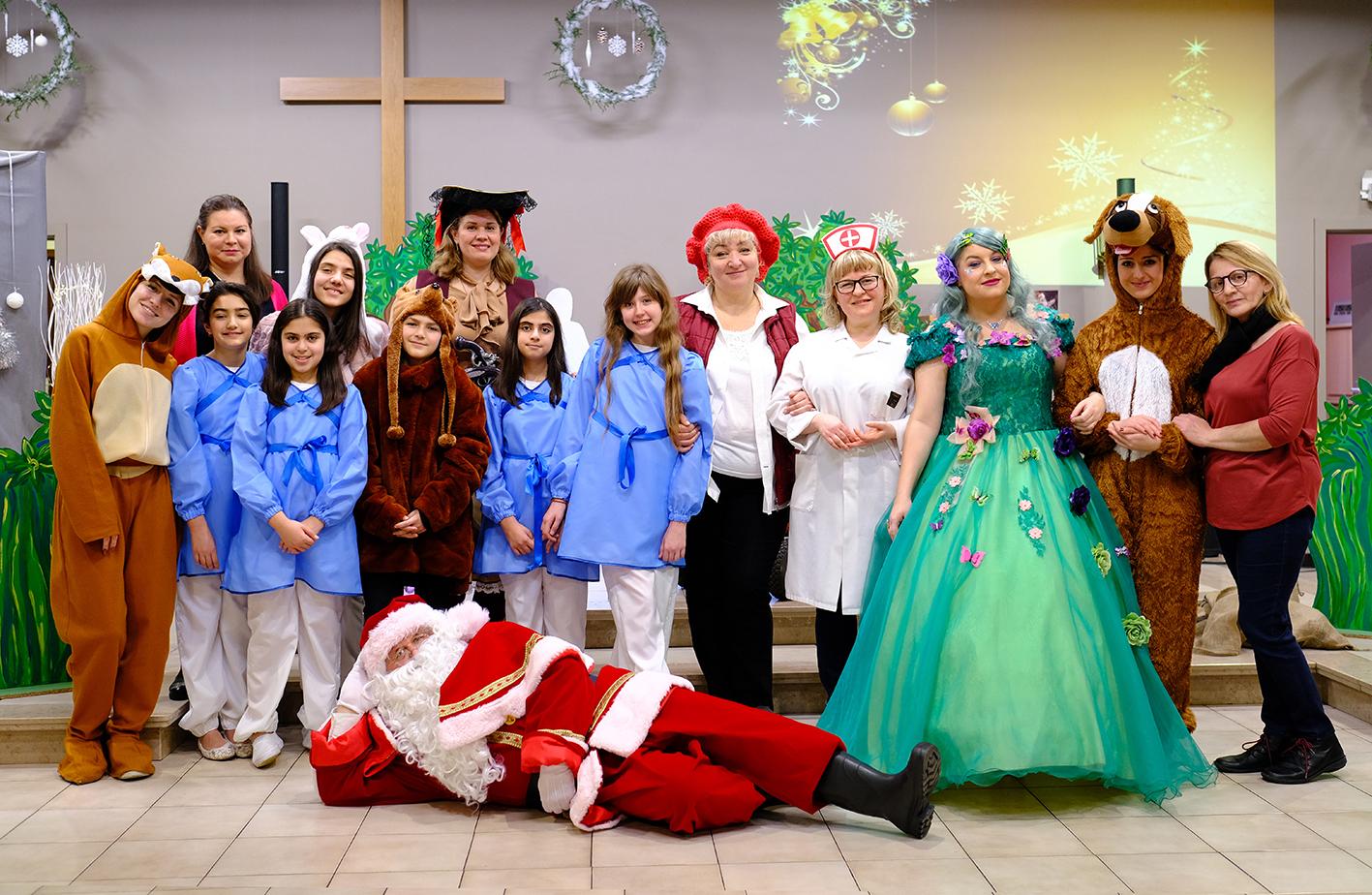 Рождественская ёлка для детей, 4-01-2020