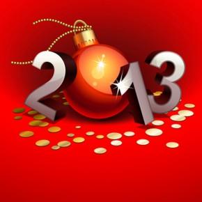 Новый 2013 год уже не за горами...